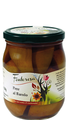 Pears with Barolo wine 600g