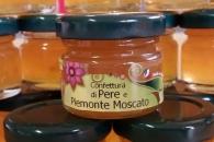 Confettura di pere e moscato vasi monodose