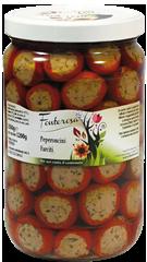 Stuffed hot peppers 1500g