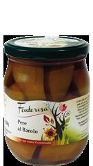Pears with Barolo wine 600g